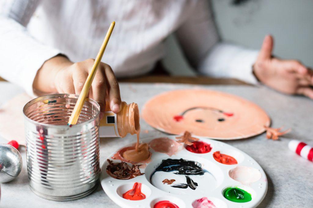 Inspiring Kids art therapy